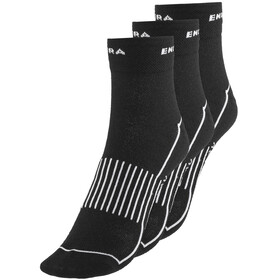 Endura Coolmax Race II Cycling Socks TriplePack black
